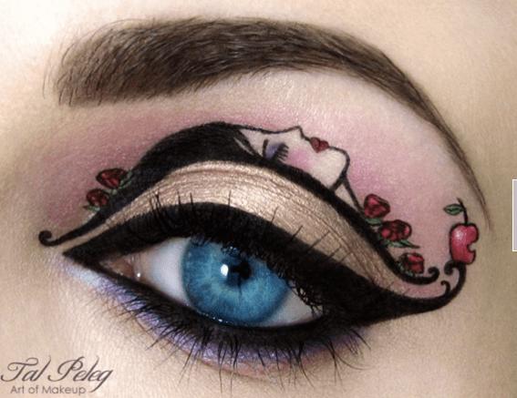 Maquillajes de fantasía para ojos