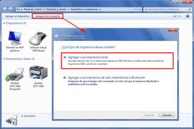 Instalar Impresora Windows7