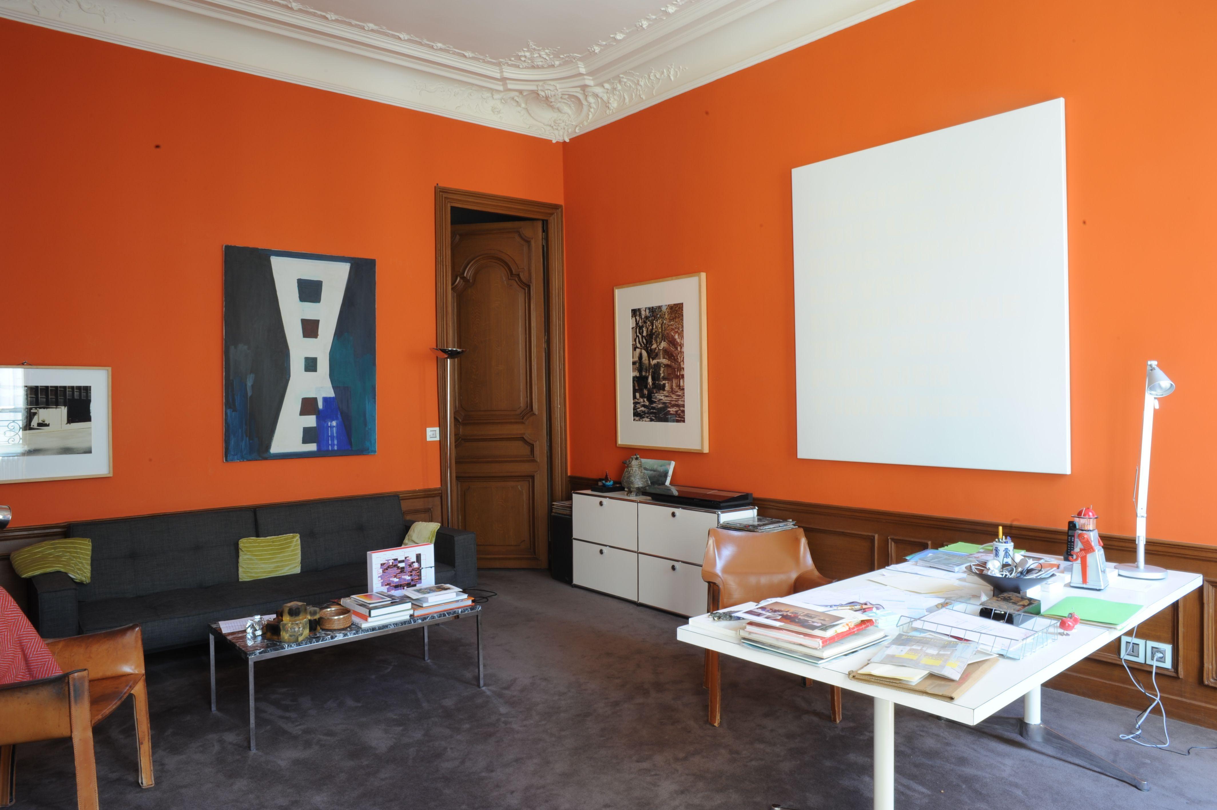 El hogar del artista francés, escultor y fotógrafo Jean-Marc Bustamante, en París.