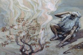 Theophany - Moses and the Burning Bush