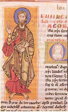 Santiago Apóstol en el Codex Calixtinus (Liber Sancti Jacobi)