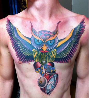 Significados De Los Tatuajes De Búhos Alas ángeles Y Golondrinas