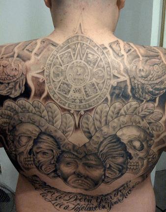 Tatuajes tribales polinésicos