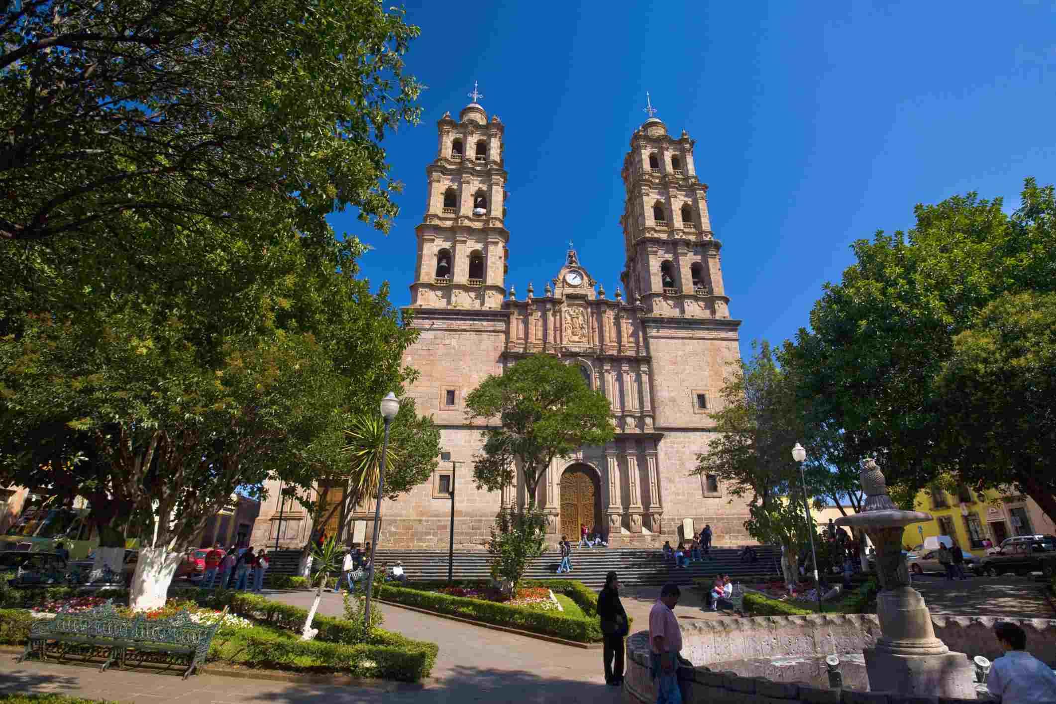 Soberbio Templo de San Jose, Morelia