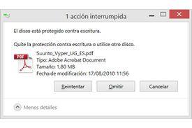USB protegido contra escritura