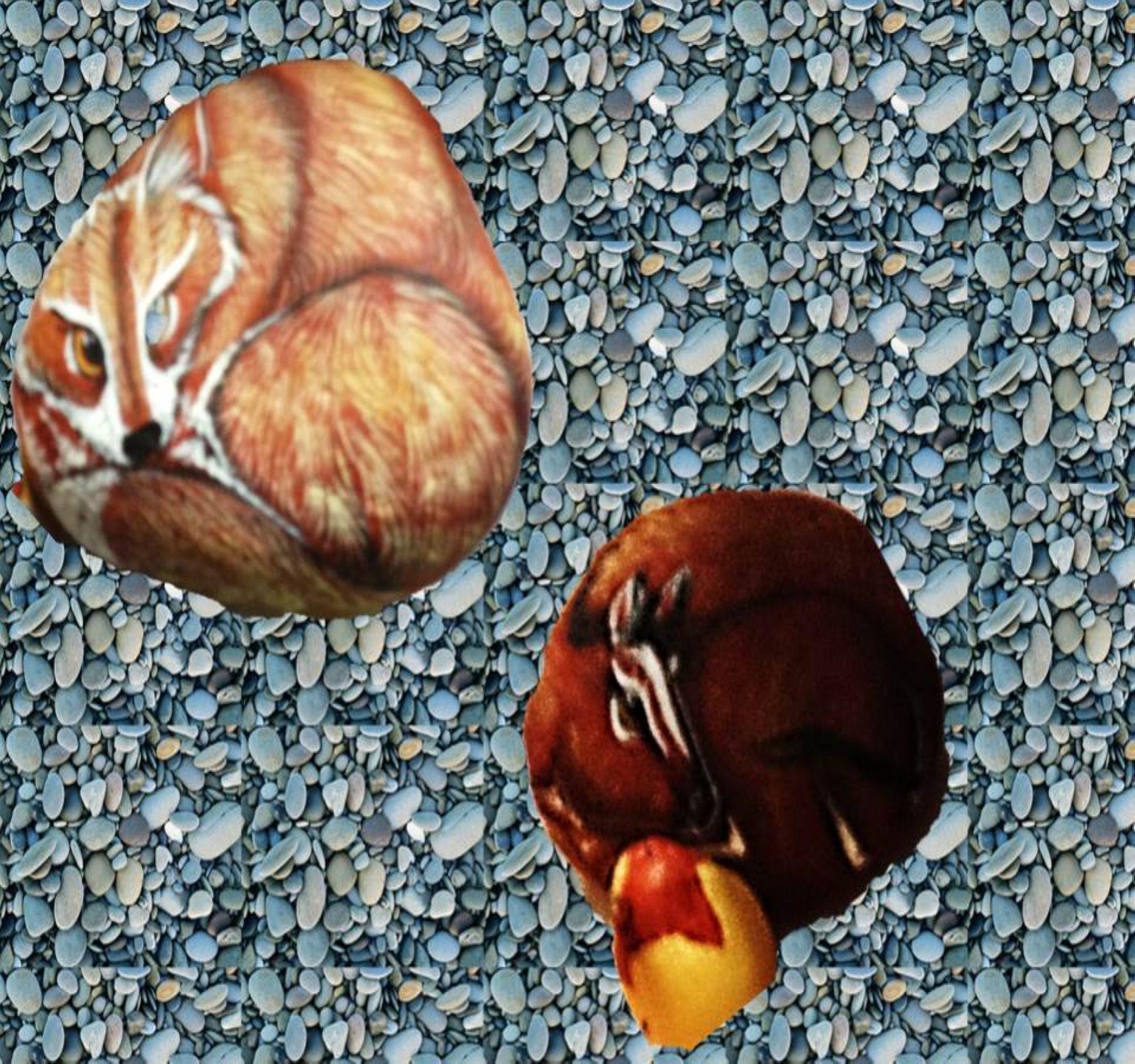piedras pintadas con animales