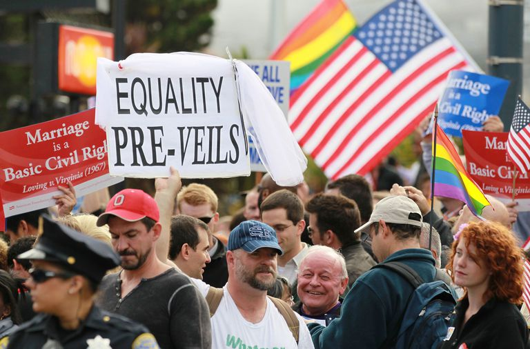 Apoyo al matrimonio igualitario
