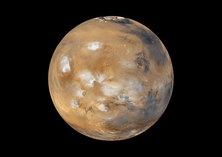 Marte, cuarto planeta del sistema solar