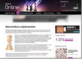 Página para jugar ajedrez en línea