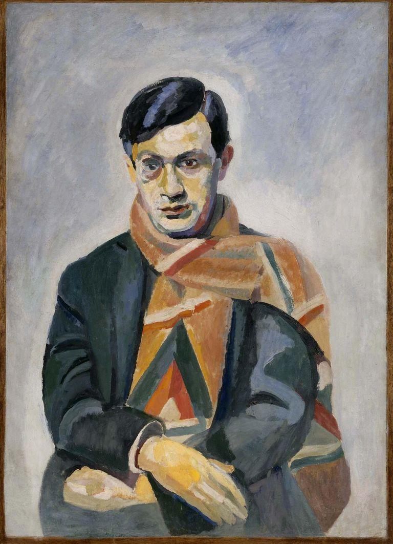 Retrato de Tristan Tzara (Robert Delaunay)