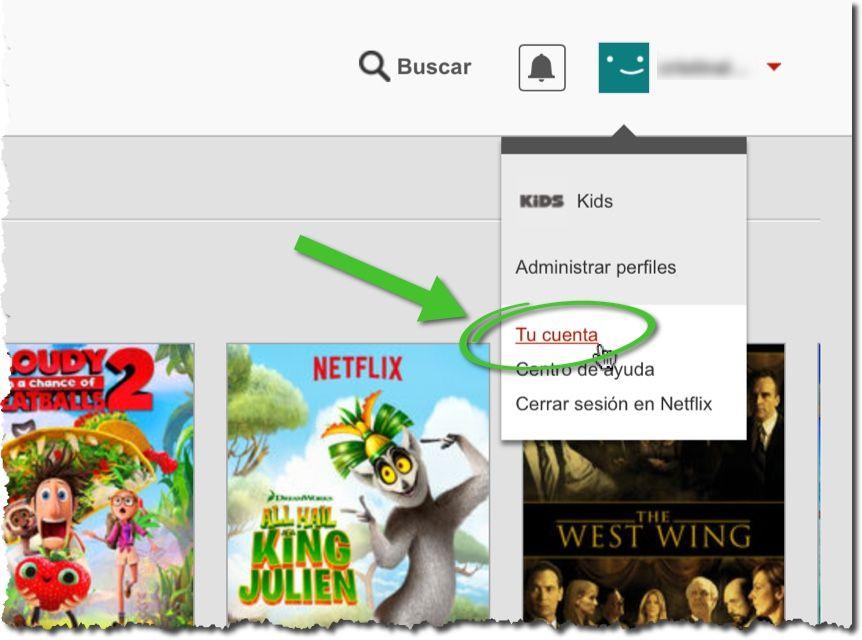 Ajustar calidad de video en Netflix