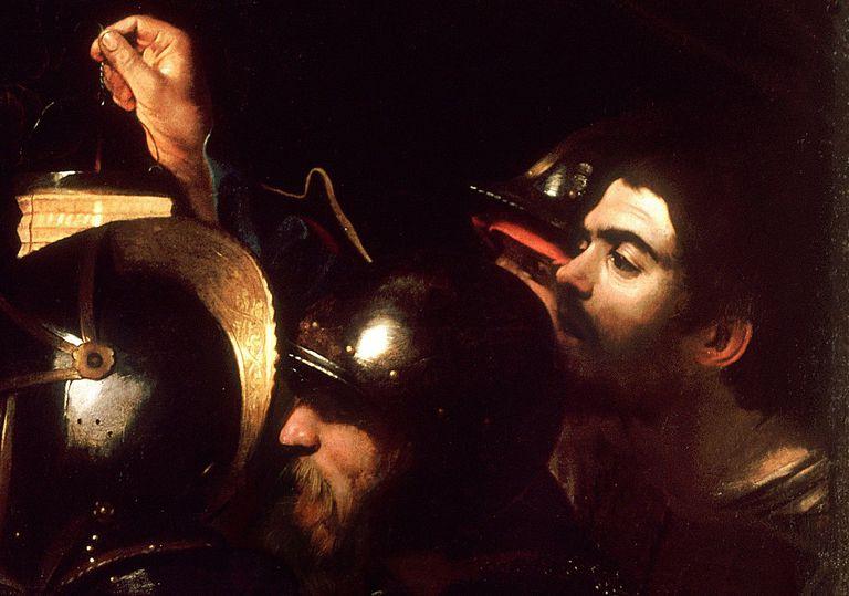 La captura de Cristo de Caravaggio