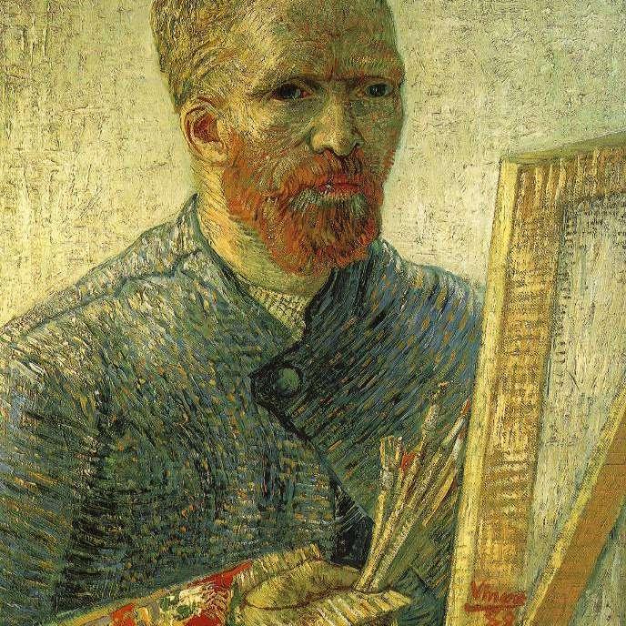 Vincent Van Gogh Autorretrato artista