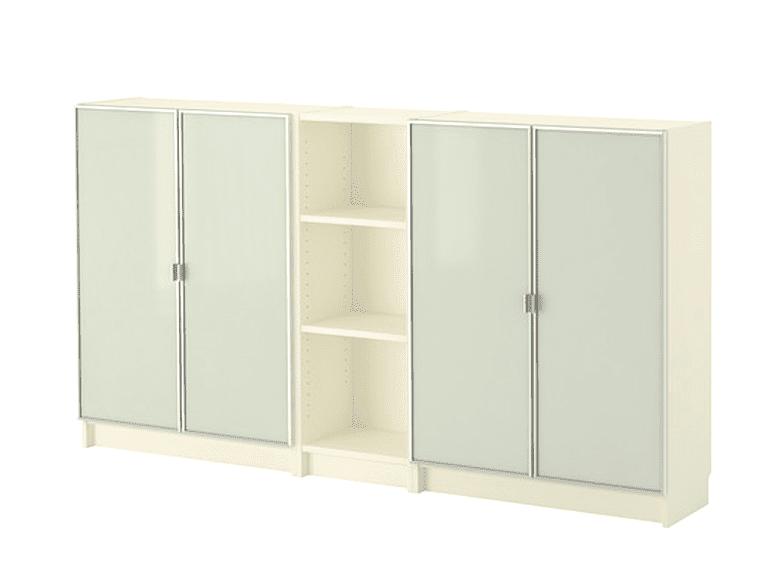 Mueble de la serie Billy de IKEA, con acabado melaminado