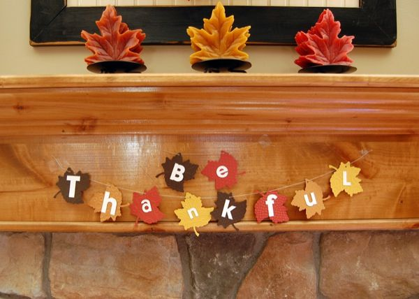 Crea Tus Propias Decoraciones Para Thanksgiving