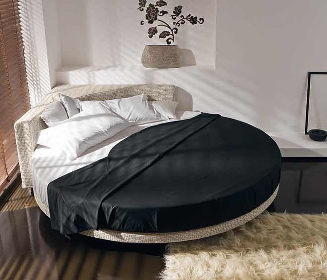 Cama redonda modelo Globe.