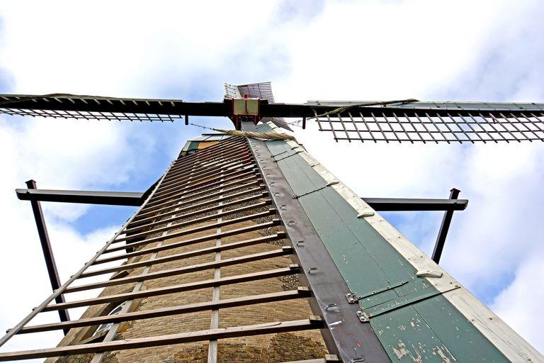 ¿Qué hay adentro de un molino de viento? Partes y componentes
