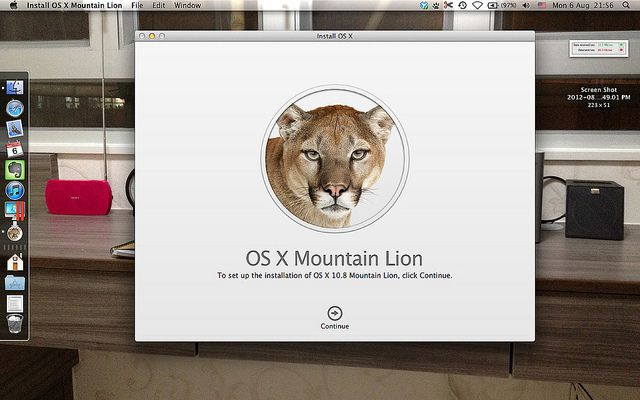 Mountain Lion,Actualizaciones,MacBook,iMac