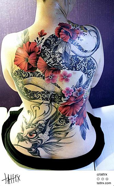 Tatuajdes de dragones