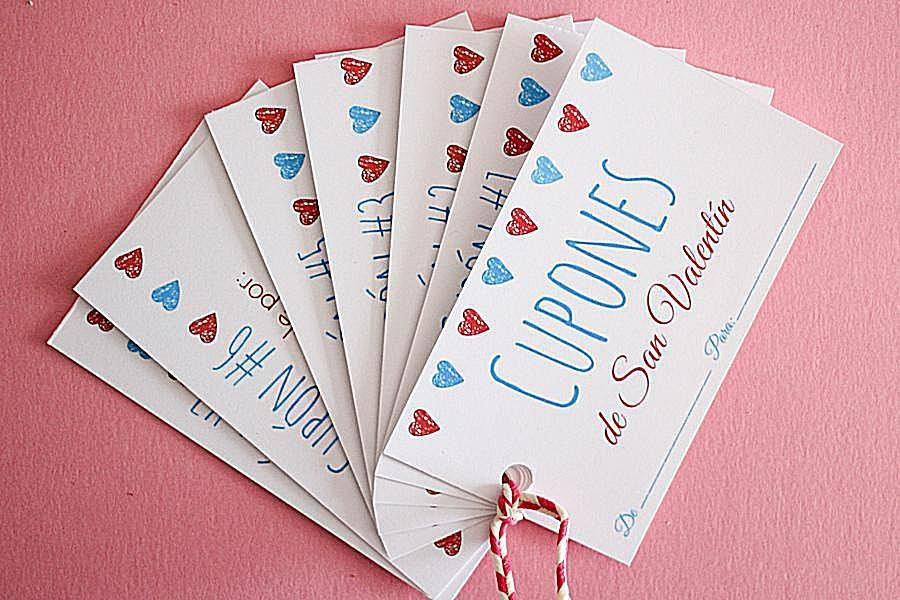 Cupones de San Valentin
