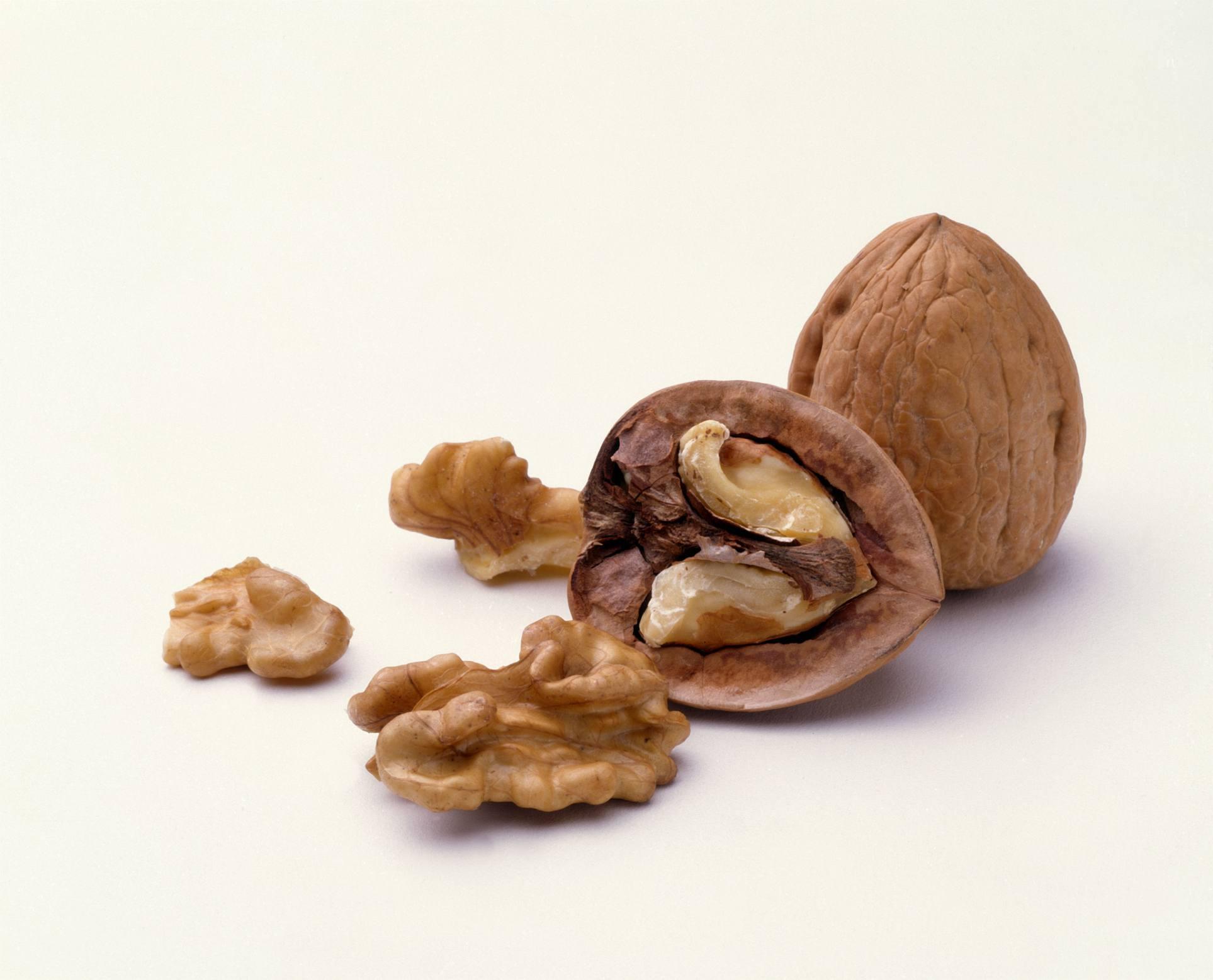 Las nueces son alimentos antioxidantes