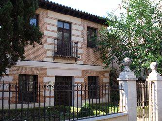 La casa natal de Miguel de Cervantes en Alcalá de Henares.