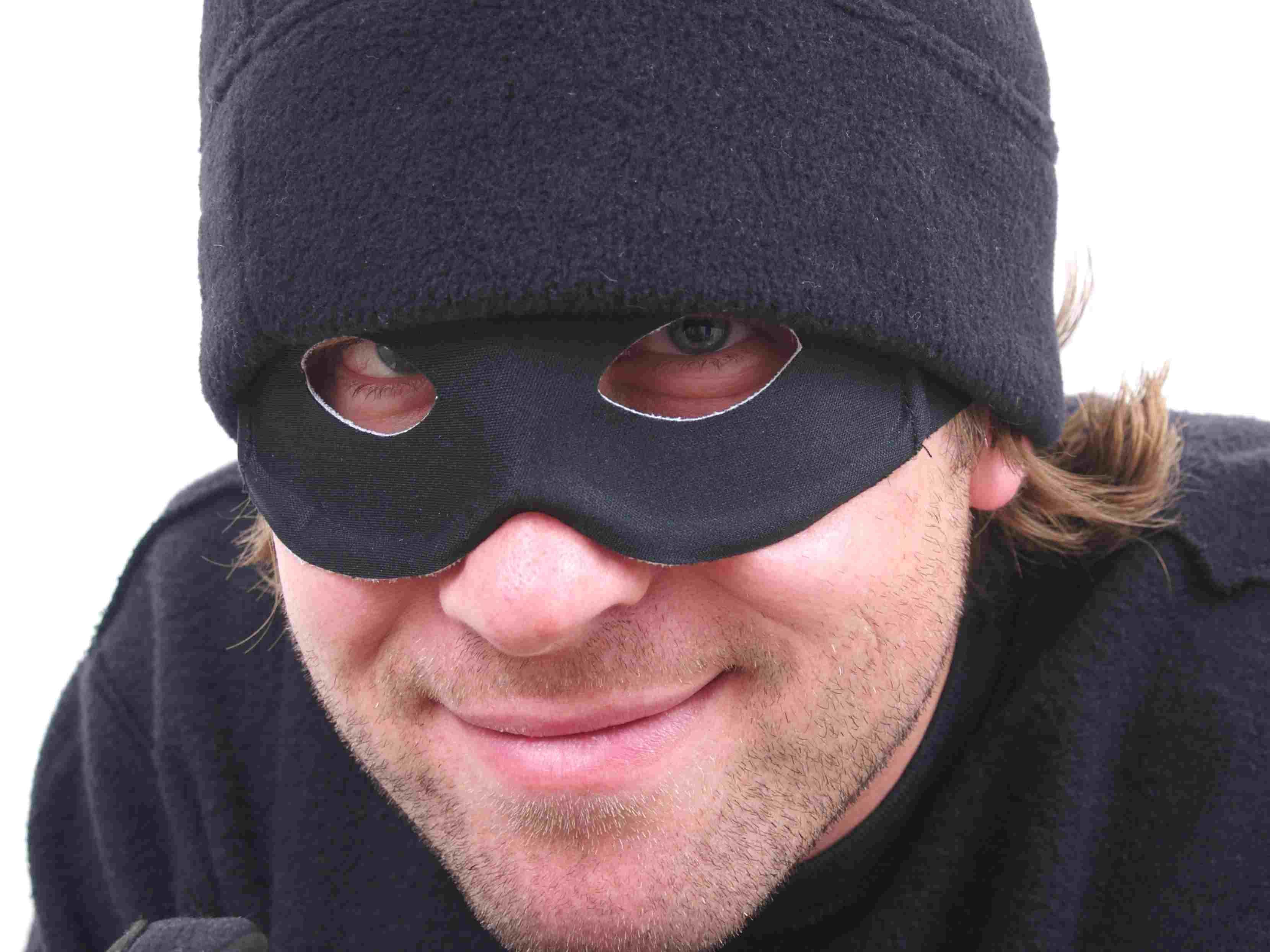 Ladrón sonriente