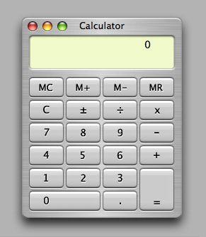 Calculadora de Mac