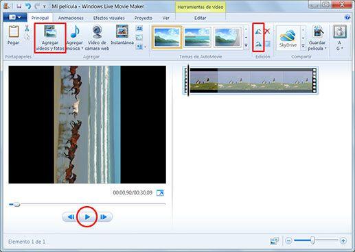 Girar Un Video Con Movie Maker