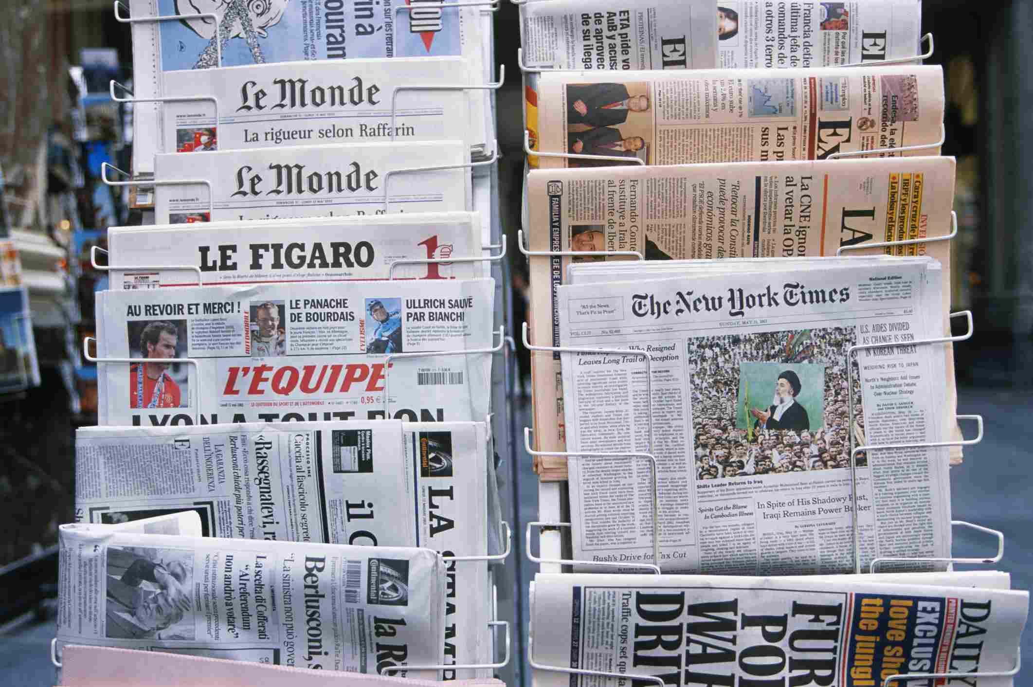 Puesto de periódico