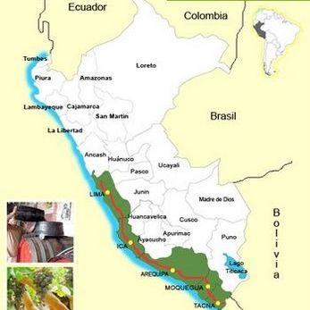 Mapas Del Peru Turismo Geografia Y Biodiversidad