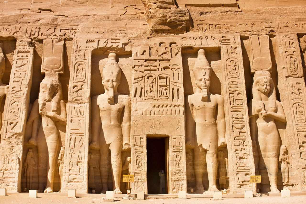 Características de la arquitectura egipcia