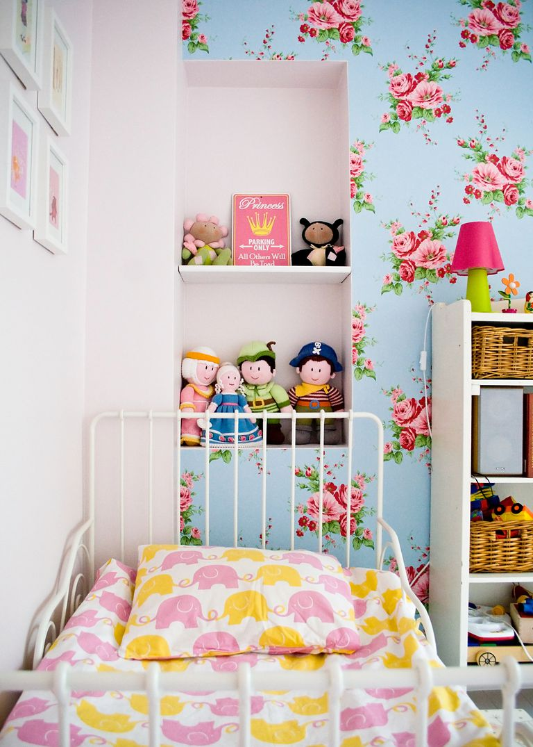 Cinco ideas creativas para decorar el cuarto de una niña