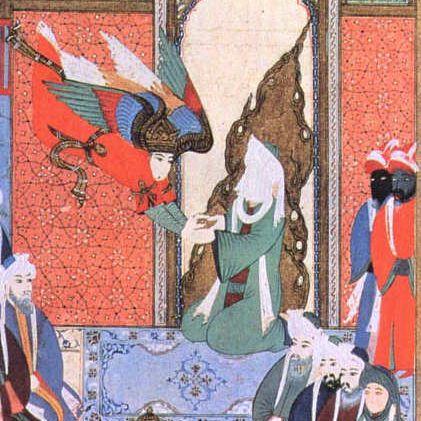 Gibril revela el Corán al Profeta Mahoma