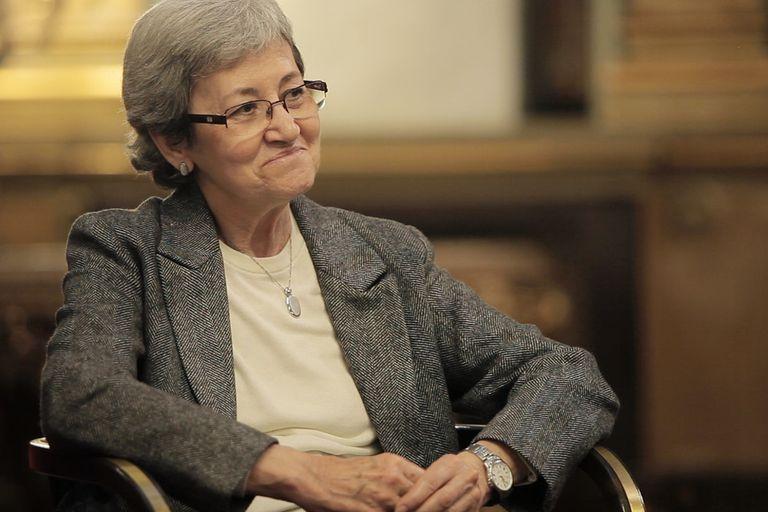 Carlota Bustelo, en una escena de 'Las Constituyentes'.