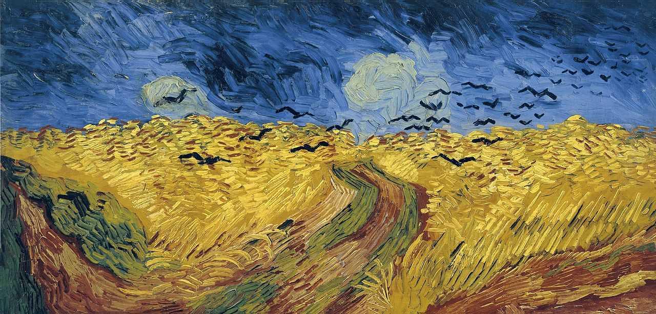 Vincent van Gogh, Campo de trigo con cuervos