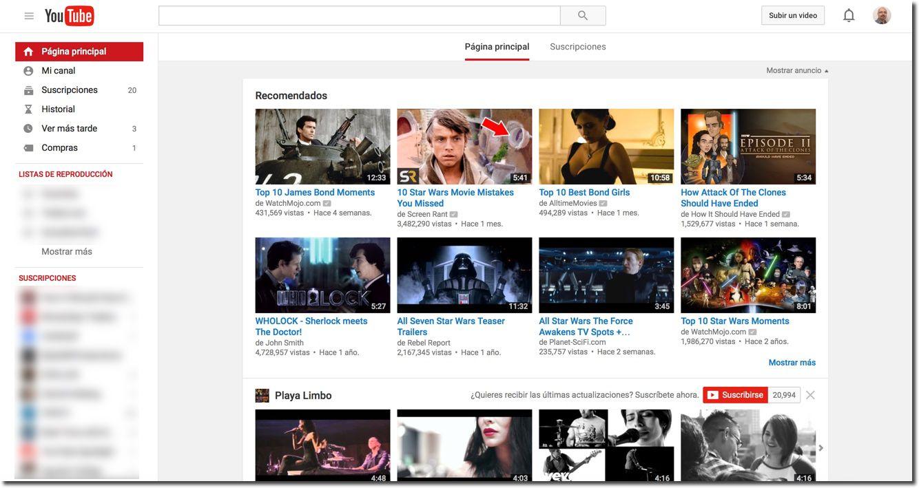 YouTube ya está en español
