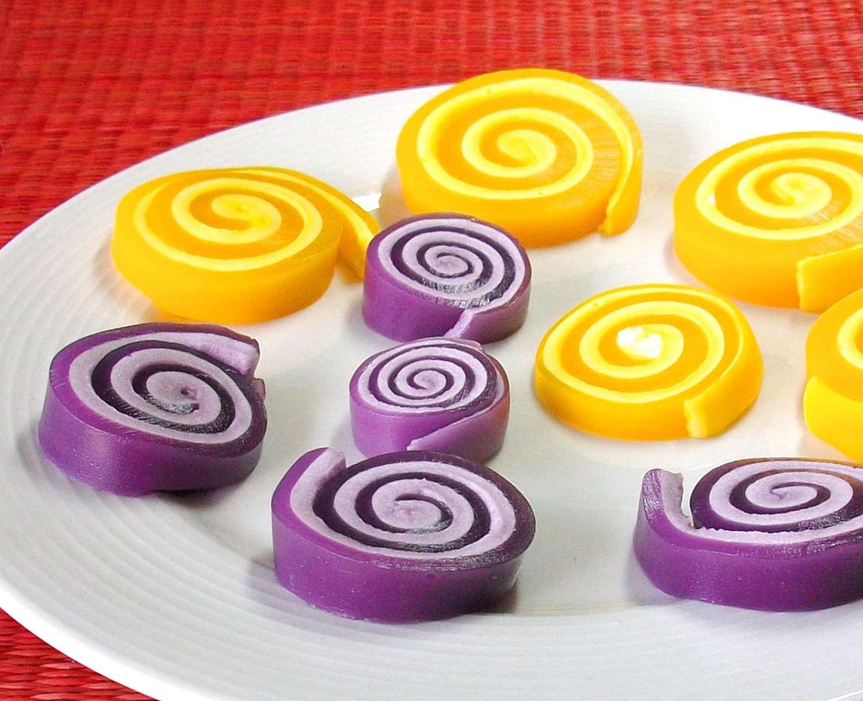 Espirales de gelatina
