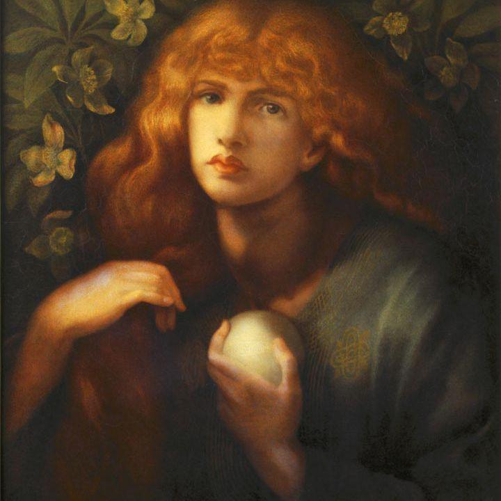 María Magdalena por Dante Gabriel Rossetti