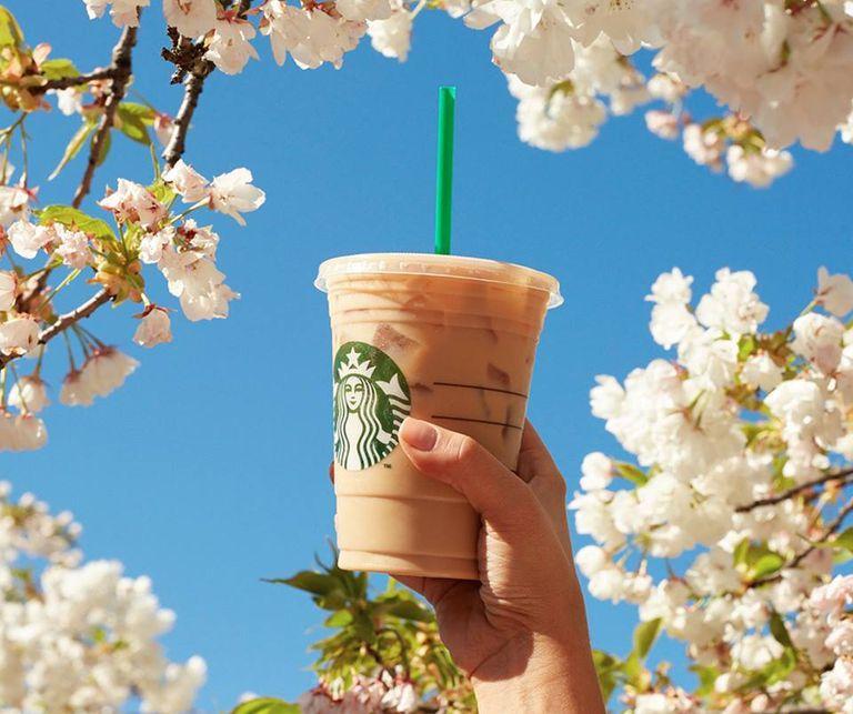 Bebidas sin cafeína de Starbucks