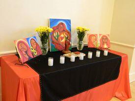 Altar a María Magdalena