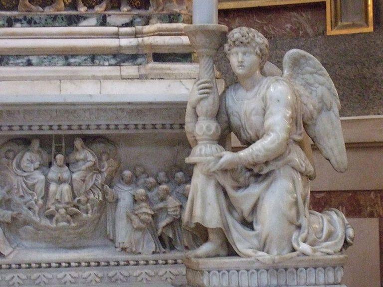 Ángel de San Domenico de Bolonia. (1495)