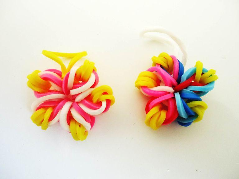 Figuras de ligas flores