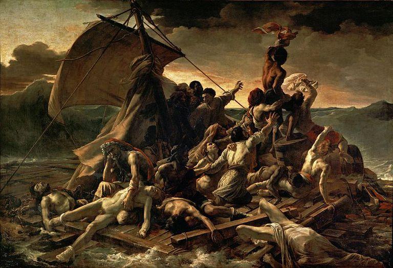 La Balsa de la Medusa de Jean Louis Théodore Géricault