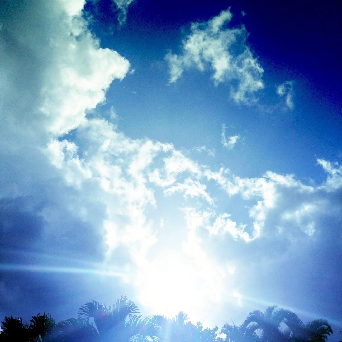 Un hermoso cielo