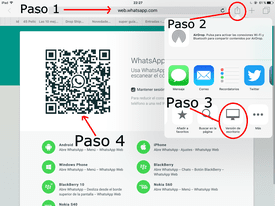 como instalar whatsapp en ipad air y ipad mini