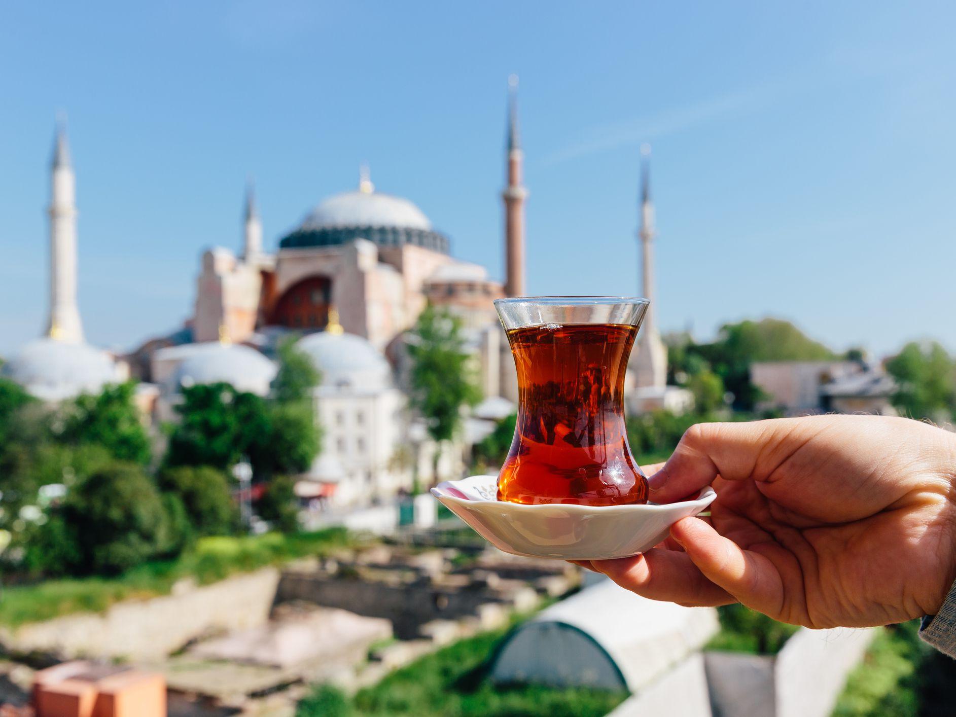 cual es el te rojo que toman los turcos