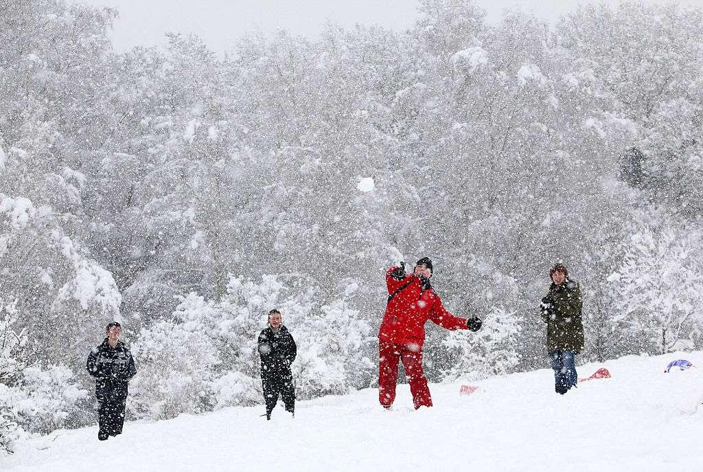Guerra de nieve