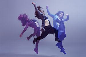 Bailarinas muestran distintos matices del ritmo en el baile.