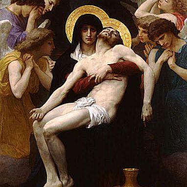 Pietà por William-Adolphe Bouguereau